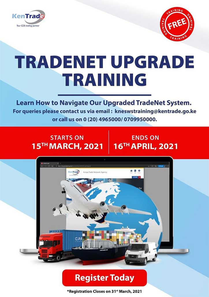 TradeNet Upgrade Training